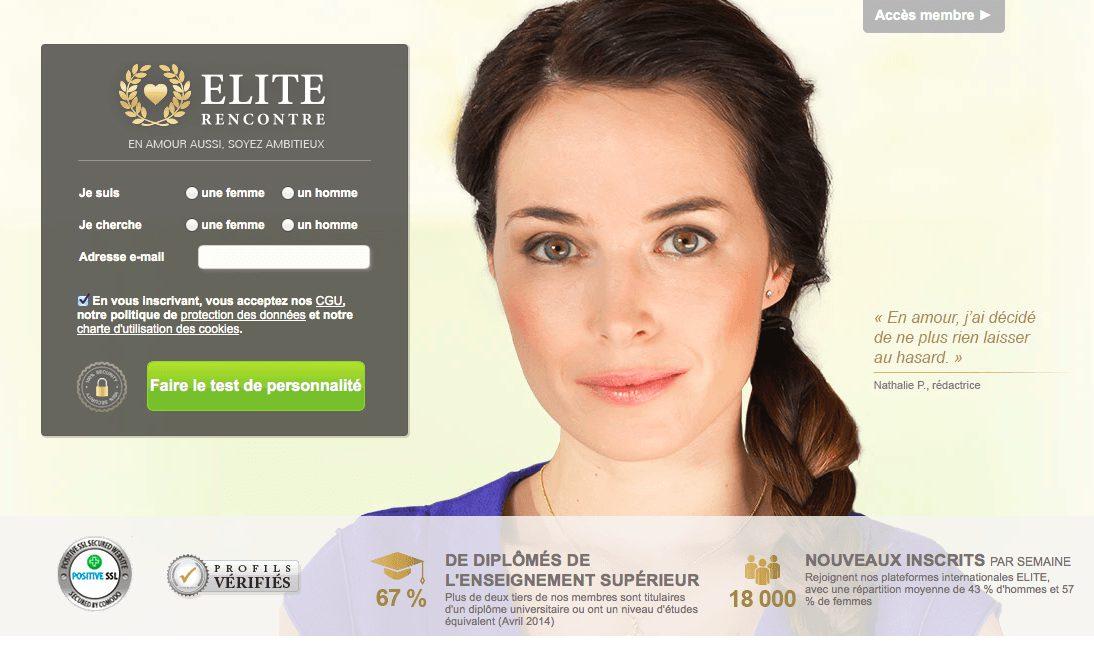 Elite Rencontre : avis et test complet