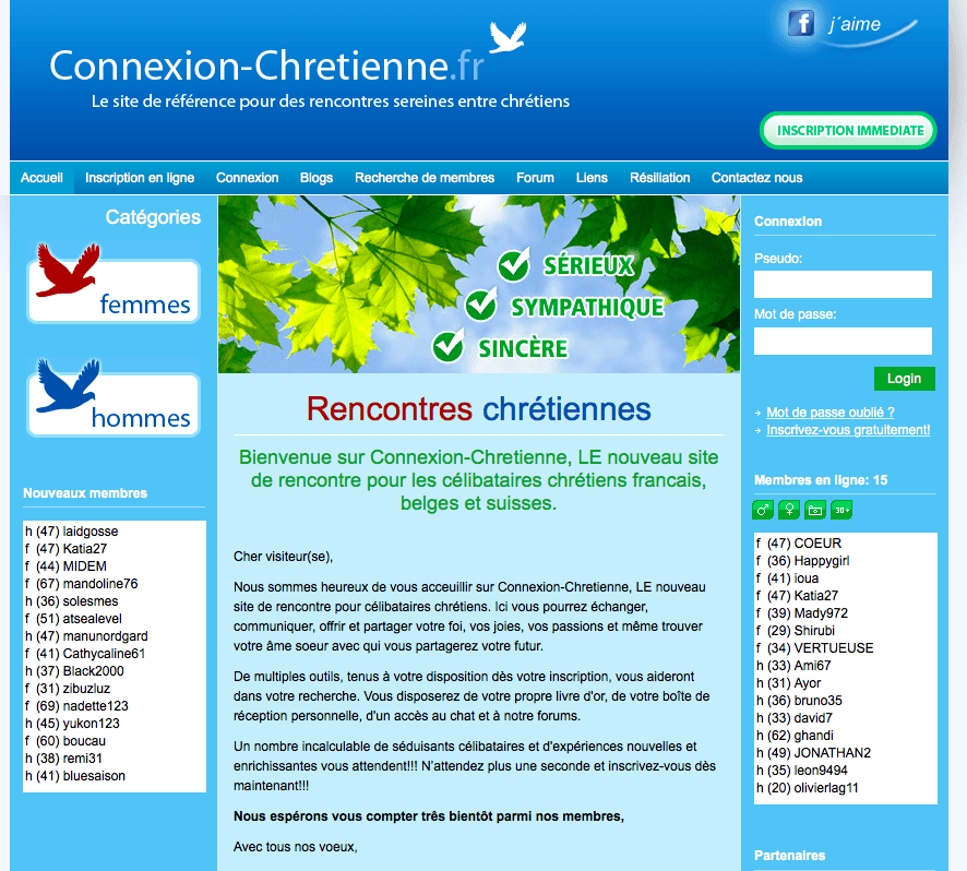 Avis Connexion Chrétienne : test et revue du site de rencontre
