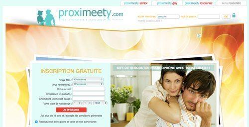 Proximeety site de rencontre gratuit
