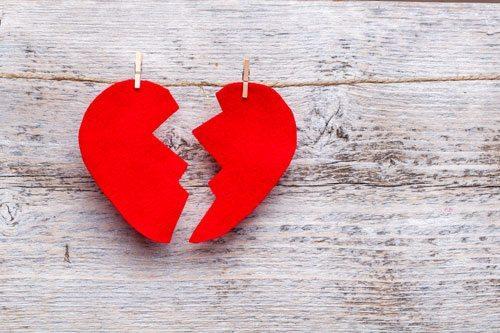 Couple et rupture, pas toujours facile de t'en sortir.