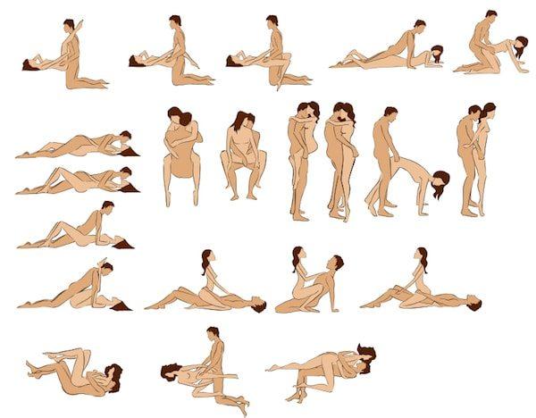 10 positions sexuelles pour faciliter l'orgasme
