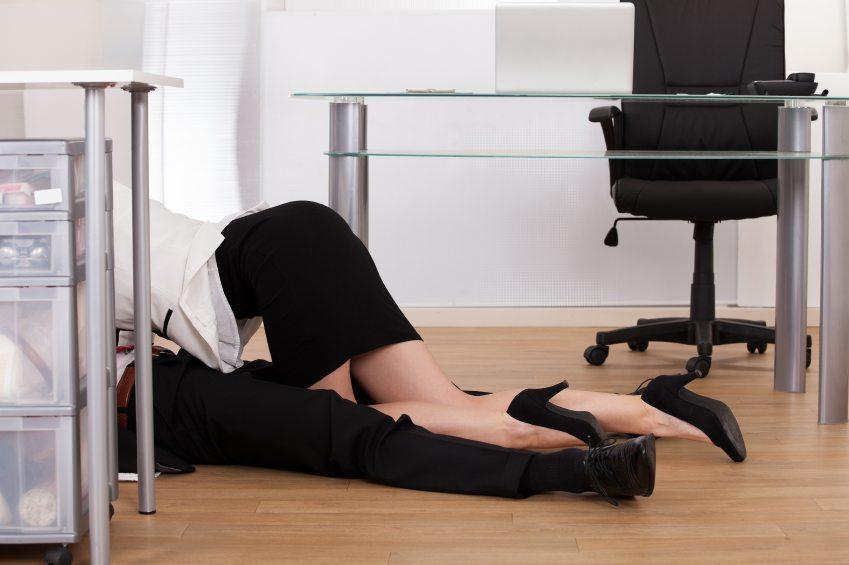 Faire l'amour au bureau, une bonne ou une mauvaise idée?