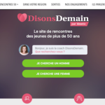 Logo Disons Demain par Meetic